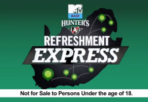 MTV Base Hunters Refreshment Express Tune in